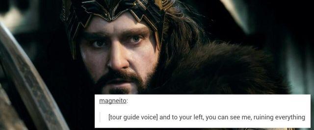 Thorin Oakenshield.